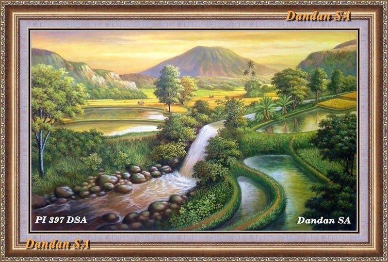 10 Pemandangan Indah Alam Pedesaan Alam Pedesaan Lukisan Khas Indonesia Download Wallpaper Pemandangan Alam Dan Pedesaan Free H Di 2020 Pemandangan Lanskap Gambar
