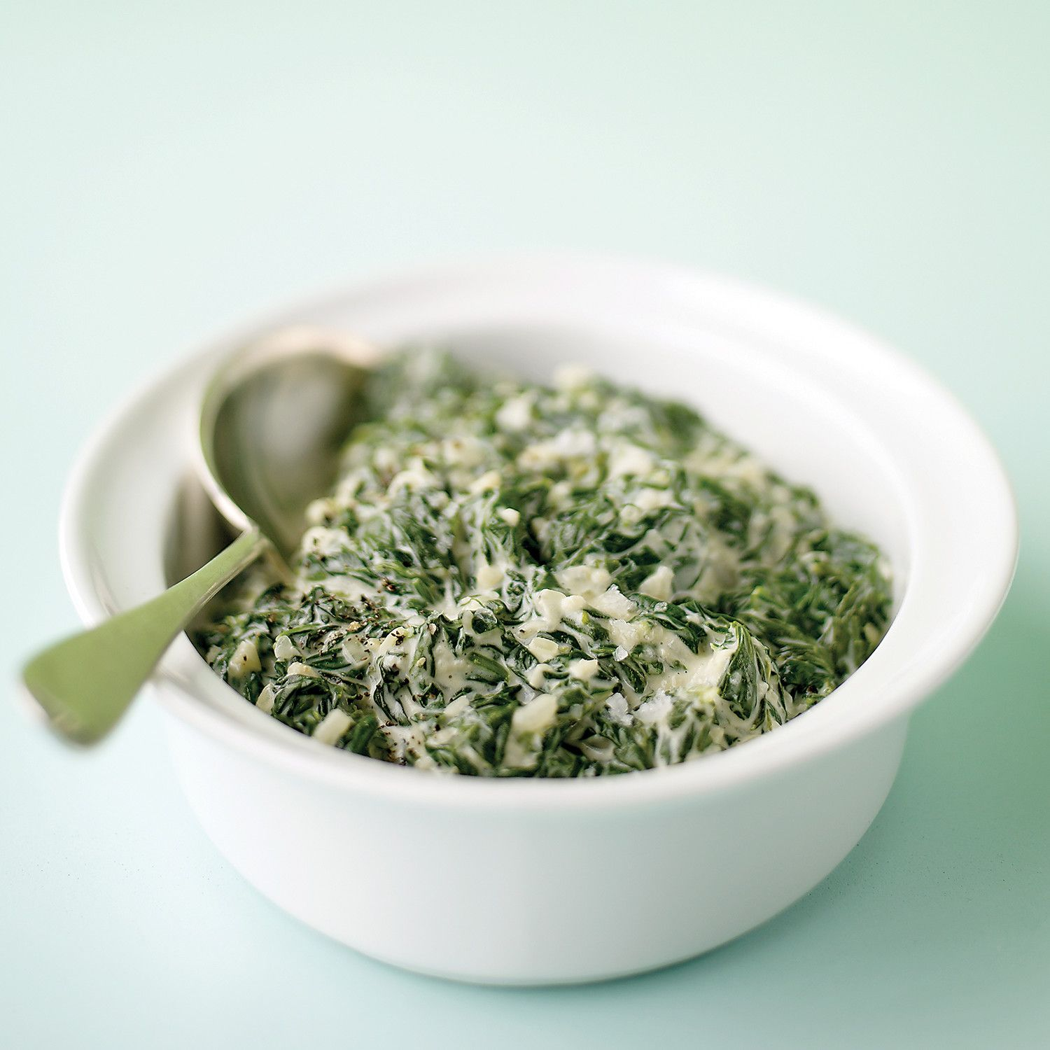 This classic spinach side dish uses cream cheese as a thickener and is popular with both young and old.