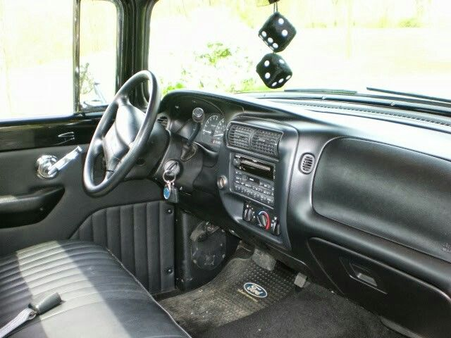 56 Ford F100 on a 1999 Explorer chassis   Classic Ford Sport