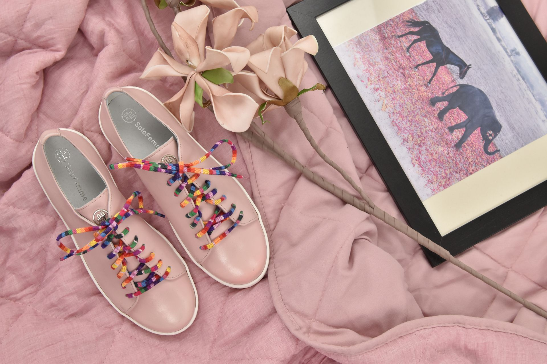 Rozowe Sneakersy Gucci Mules Shoes Mule Shoe