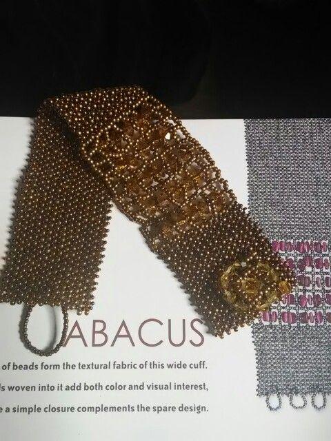 Bracciale abacus libera ispirazione creato da Mariateresa Bellomo