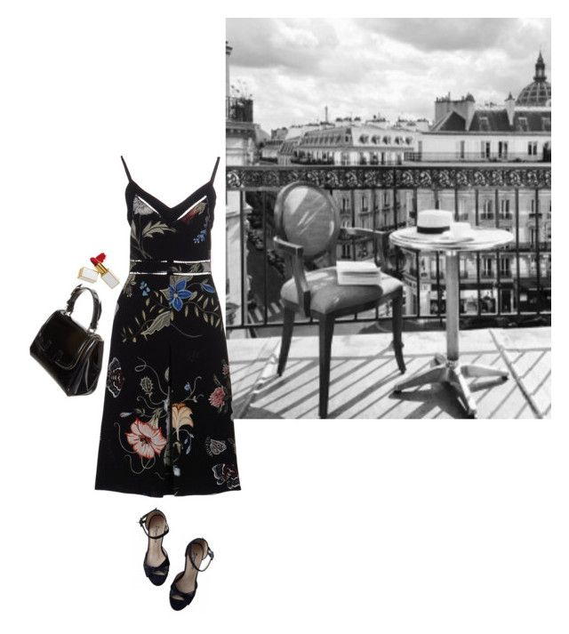 """""""red"""" by flaneurforever ❤ liked on Polyvore featuring Gucci, Repetto, Chanel and Fendi"""
