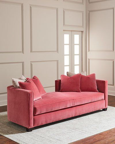 HB6B9 Cynthia Rowley for Hooker Furniture Coco Velvet Daybed ...