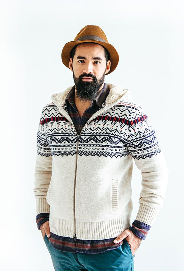 This men's Gap lambswool fair isle zip-up hoodie is a favorite ...