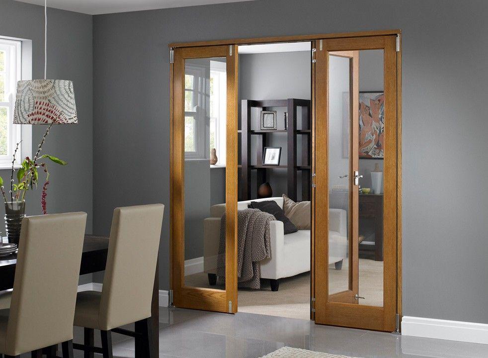 Folding Door Room Dividers.Inspire Oak 1 8m Approx 6ft Internal Bi Fold Doors