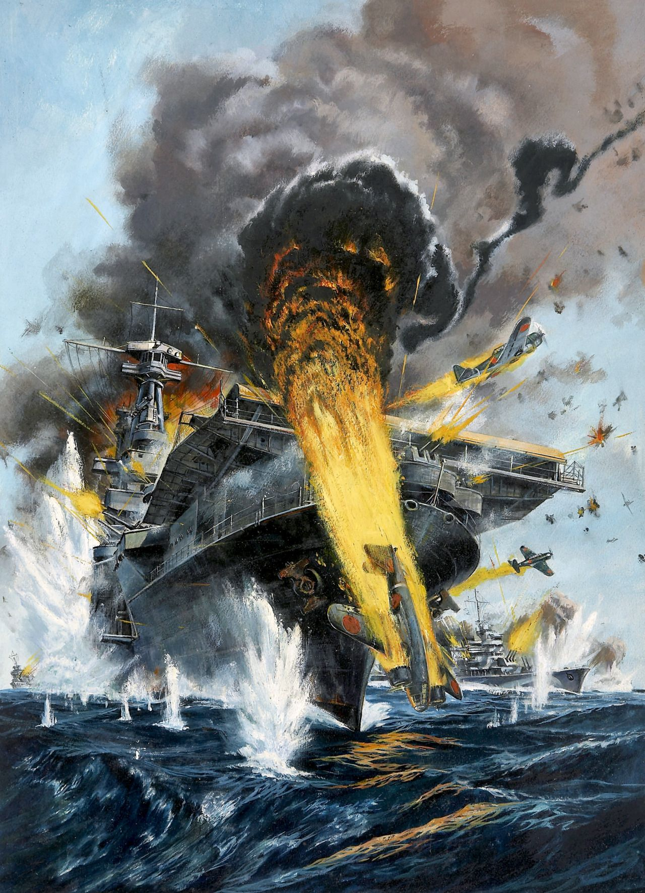 battle of midway wwii June 4 through the 7 marks the 75th anniversary of the battle of midway.