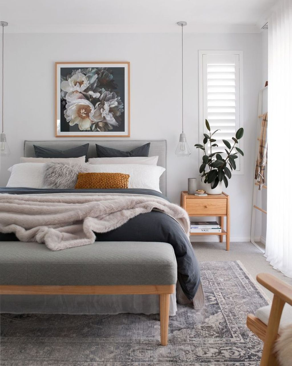 38 Inspiring Modern Scandinavian Style Bedroom Decor Ideas With Images Master Bedrooms Decor Bedroom Interior Home Decor Bedroom