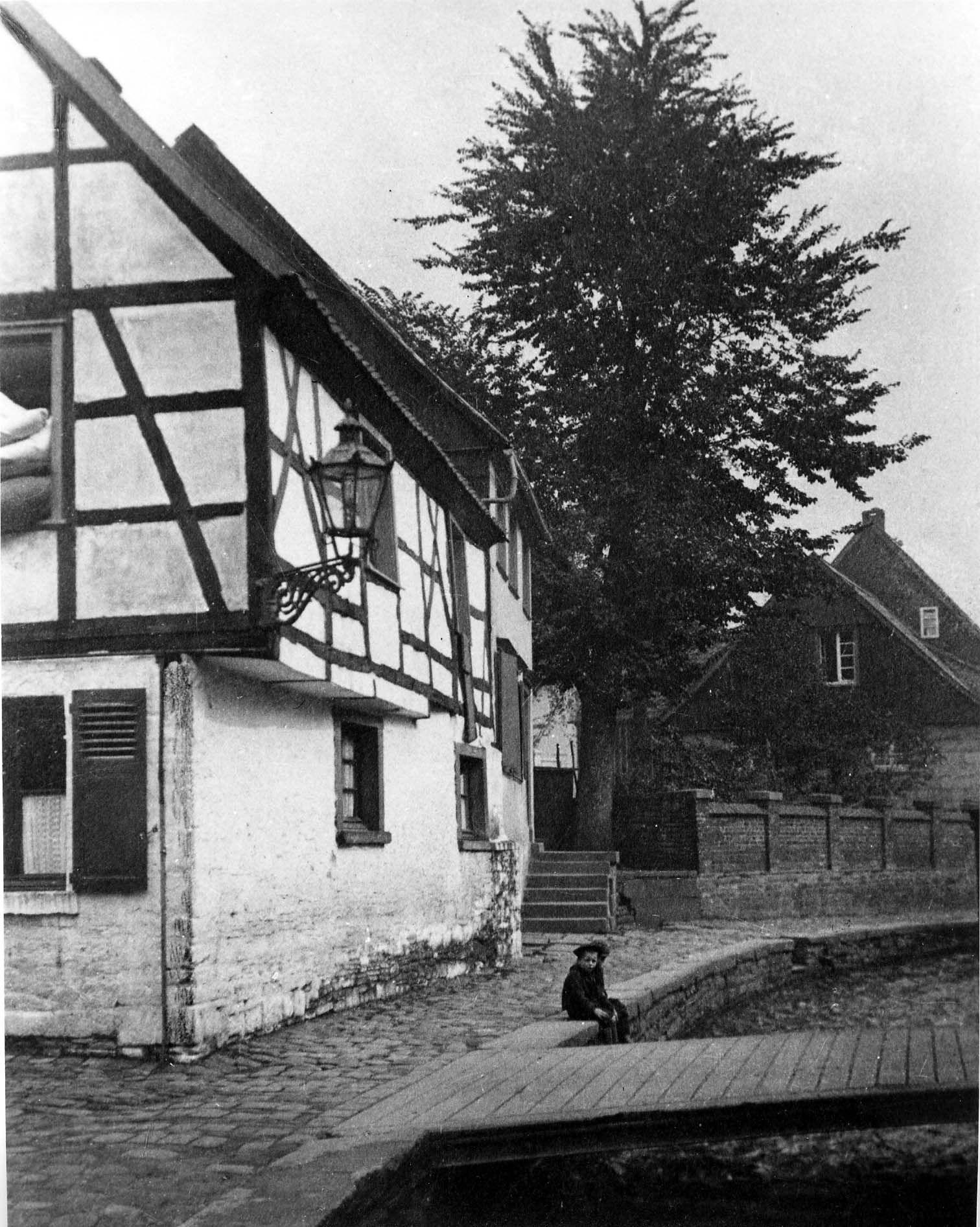 Bachviertel, Herdecke, Westfalen, 30er Jahre Historische