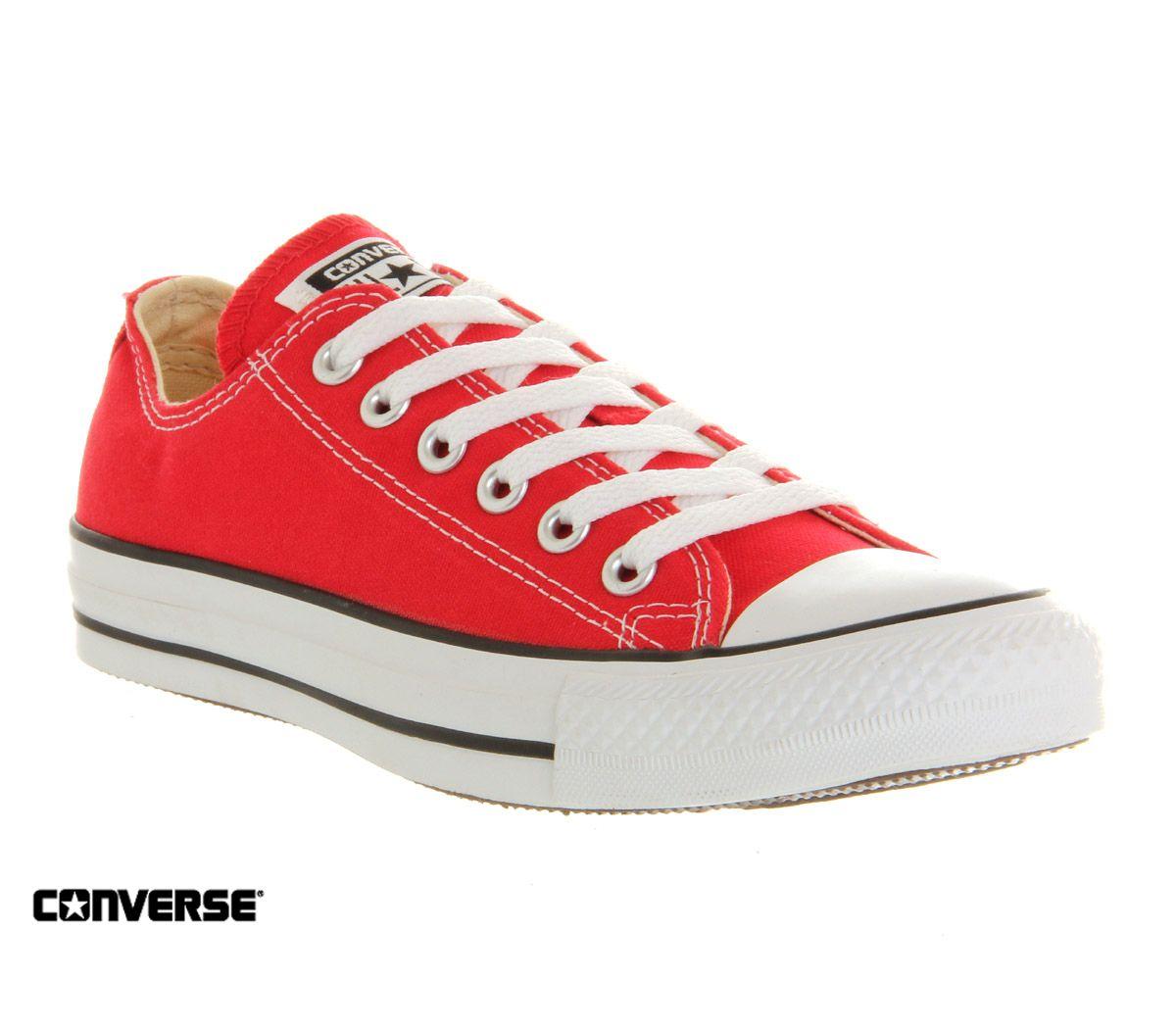 Ladies Red Converse Pumps. (visit us in