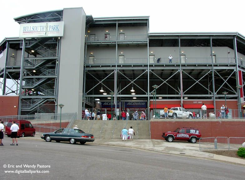 Bellsouth Park Chattanooga Tennessee Home Of The Chattanooga Lookouts Chattanooga Tennessee Chattanooga Baseball Park