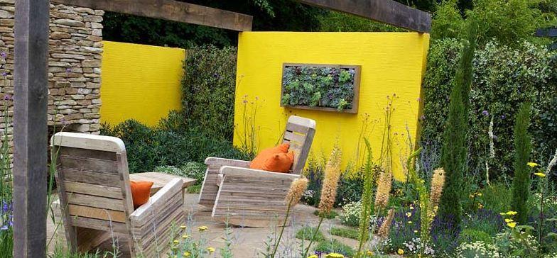 Attractive Garden Walls Ideas Image Collection - Wall Art Design ...
