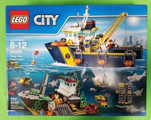 LEGO CITY DEEP SEA EXPLORATION VESSEL 60095 (BRAND NEW FACTORY SEALED)! https://t.co/06DomoS2YK https://t.co/Wl9Gm6mHNt