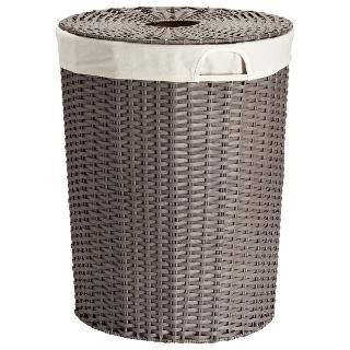 The Container Store Gt Montauk Round Hamper Hamper Laundry Hamper With Lid Dress Up Store