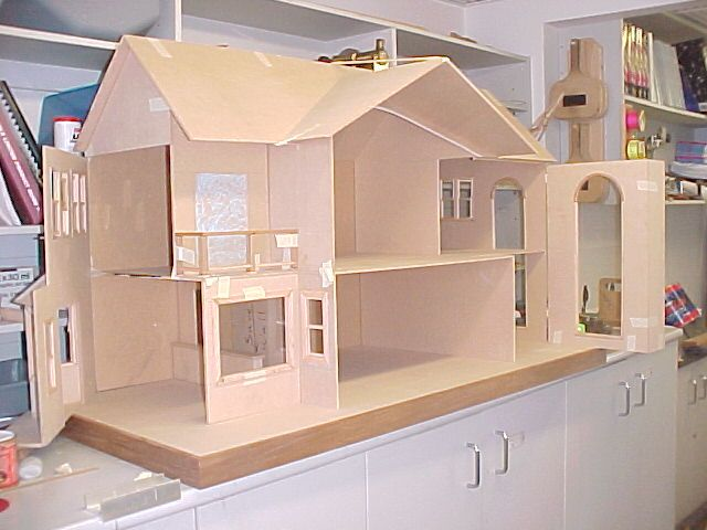 Open Jpg 640 480 Doll House Plans Barbie House Dolly House