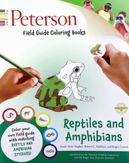 Reptiles And Amphibians Field Guide Coloring Book From The