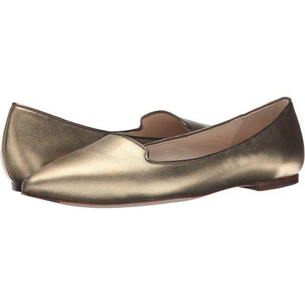 Womens Shoes Cole Haan Lockhart Skimmer Gold Metallic