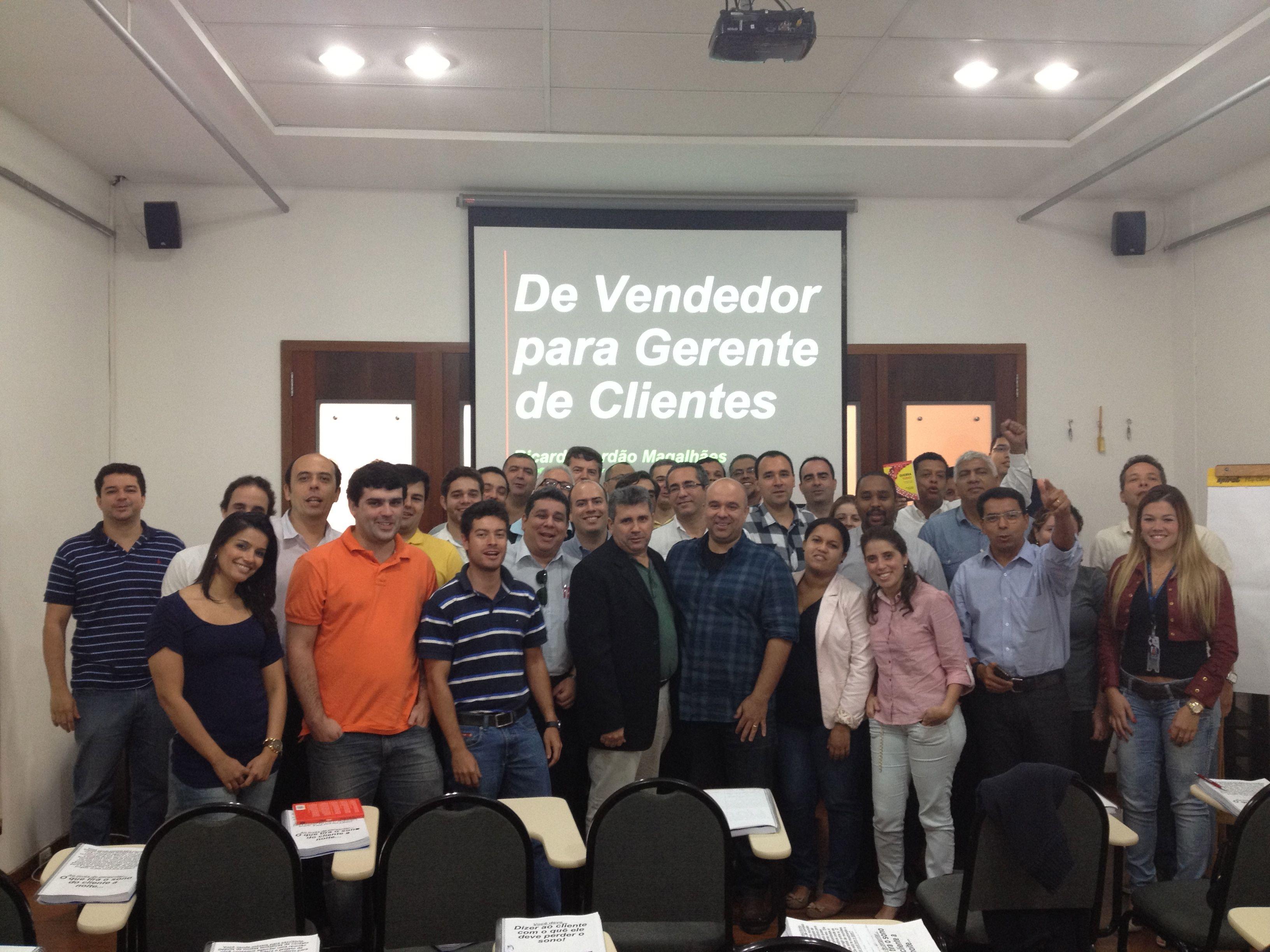 Galera do Rio de Janeiro no Curso de Vendas da BIZ.