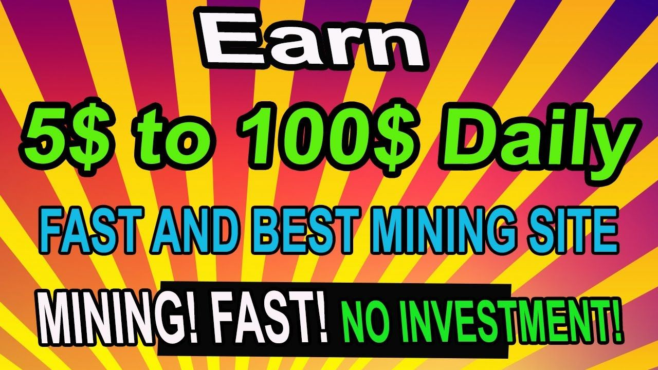 Earn 5 to 100 daily by online