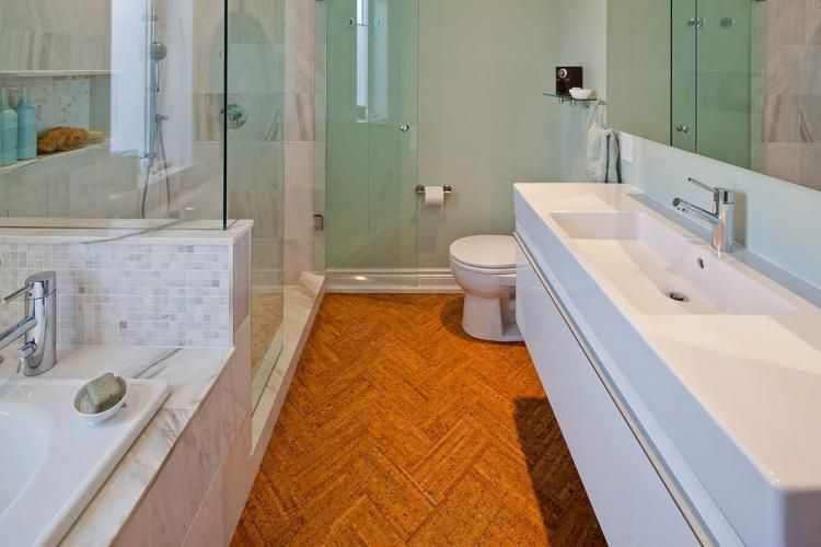 Stunning Cork Flooring In Bathroom Design Ideas Bathroom Design