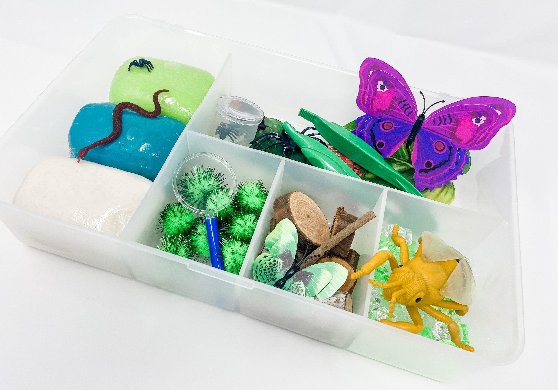 Bug Play Dough Kit Playdough Sensory Kit Sensory Box Boy Etsy In 2020 Playdough Kits Kids Craft Box Diy Gifts For Kids