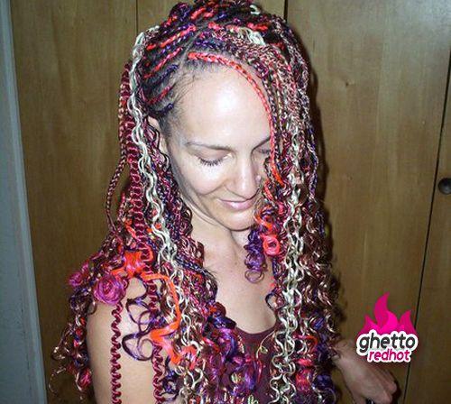 Ghetto Hairstyle Of The Week Hair Styles Cool Braid Hairstyles Medium Hair Styles