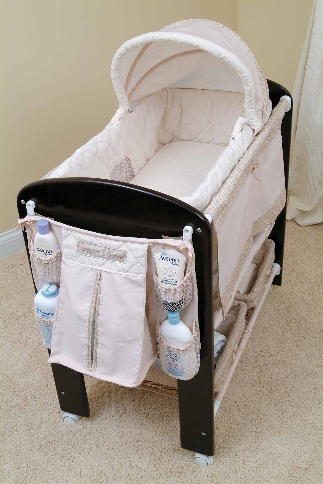 Expensive But A Stylish And Practical Bassinet Has A