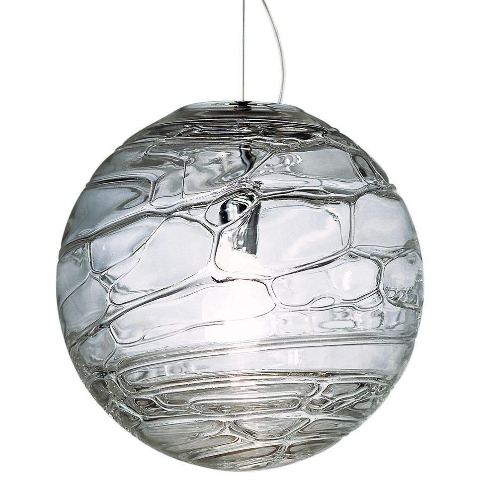 Sibilla Was Designed By Crepax Zanon In 2000 To Create A Beautiful Dance Of Light In Your Space The Uniq Globe Pendant Small Pendant Lights Pendant Lighting