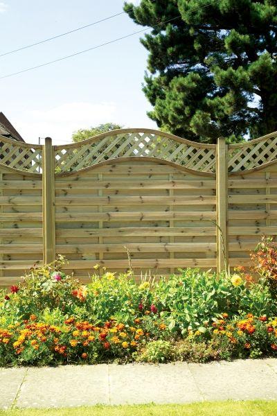 Elite St Melior Panel 1800x1800 Garden Structures Fence Panels Garden Fencing