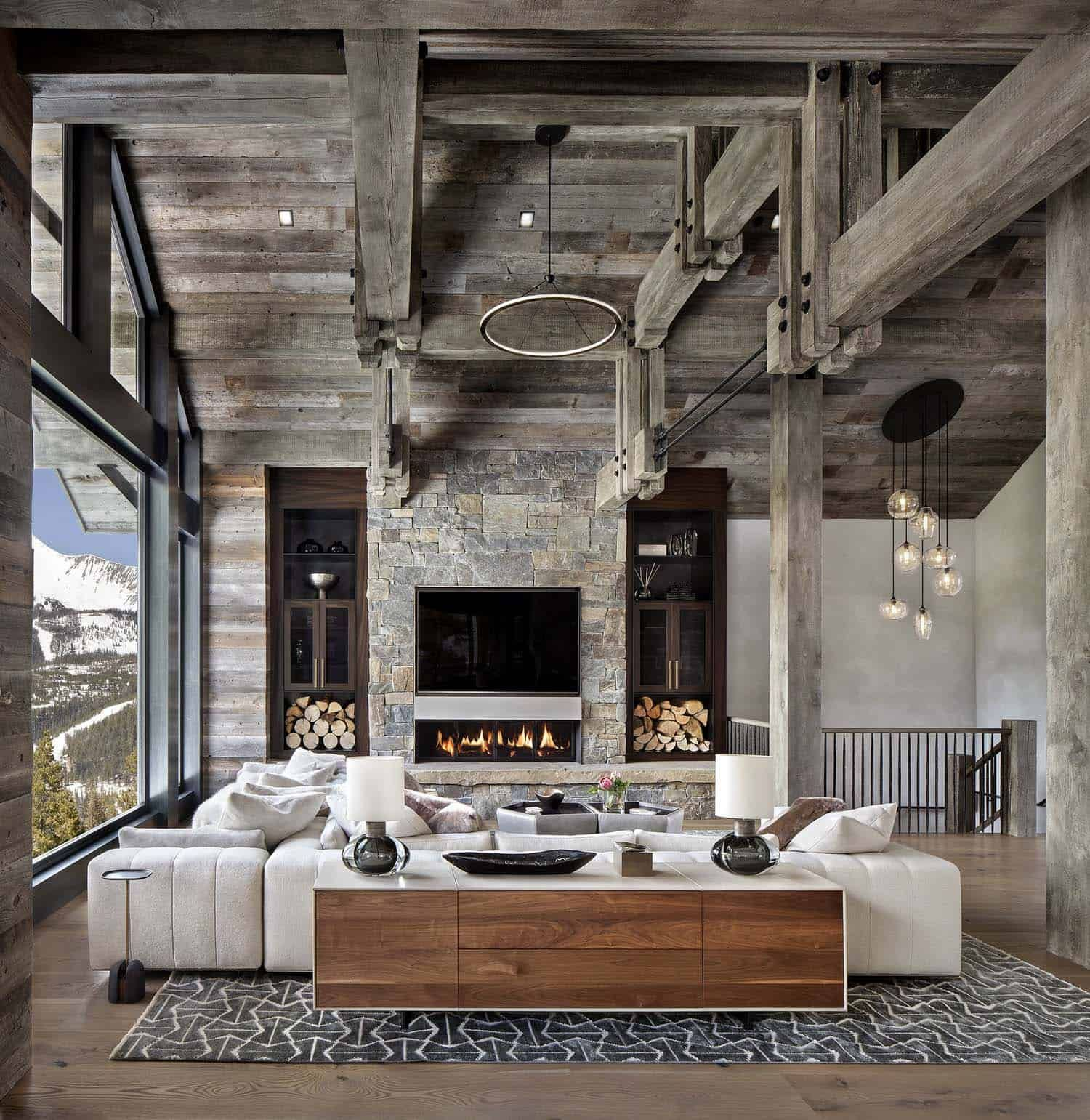 Modern-rustic Home Set Amidst The Grandeur Of The Rocky