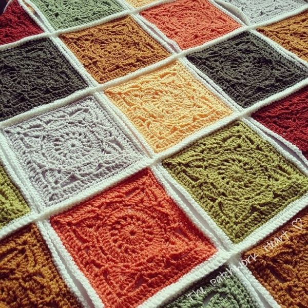 Download Willow Block Crochet Pattern (FREE) | Crochet | Pinterest ... : crochet quilt block patterns - Adamdwight.com