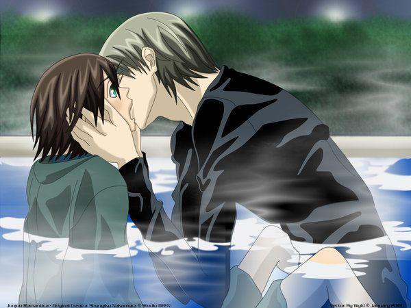 junjou romantica kiss