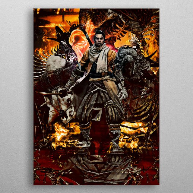 SyanArt Gaming Metal Prints