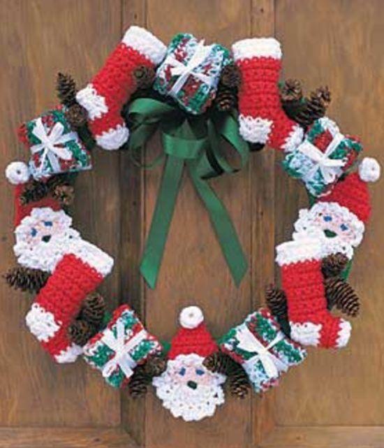 Mini Christmas Stockings Crochet Pattern | Stockings, Crochet and ...