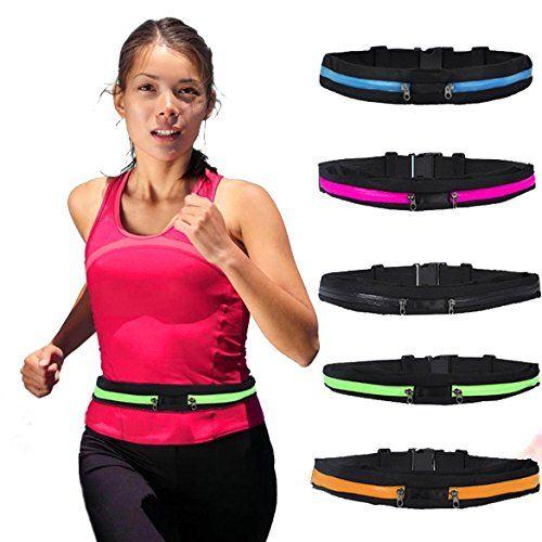 Waterproof Sport Belly Waist Bum Pack Fitness Running Jogging Cycling Belt Pouch