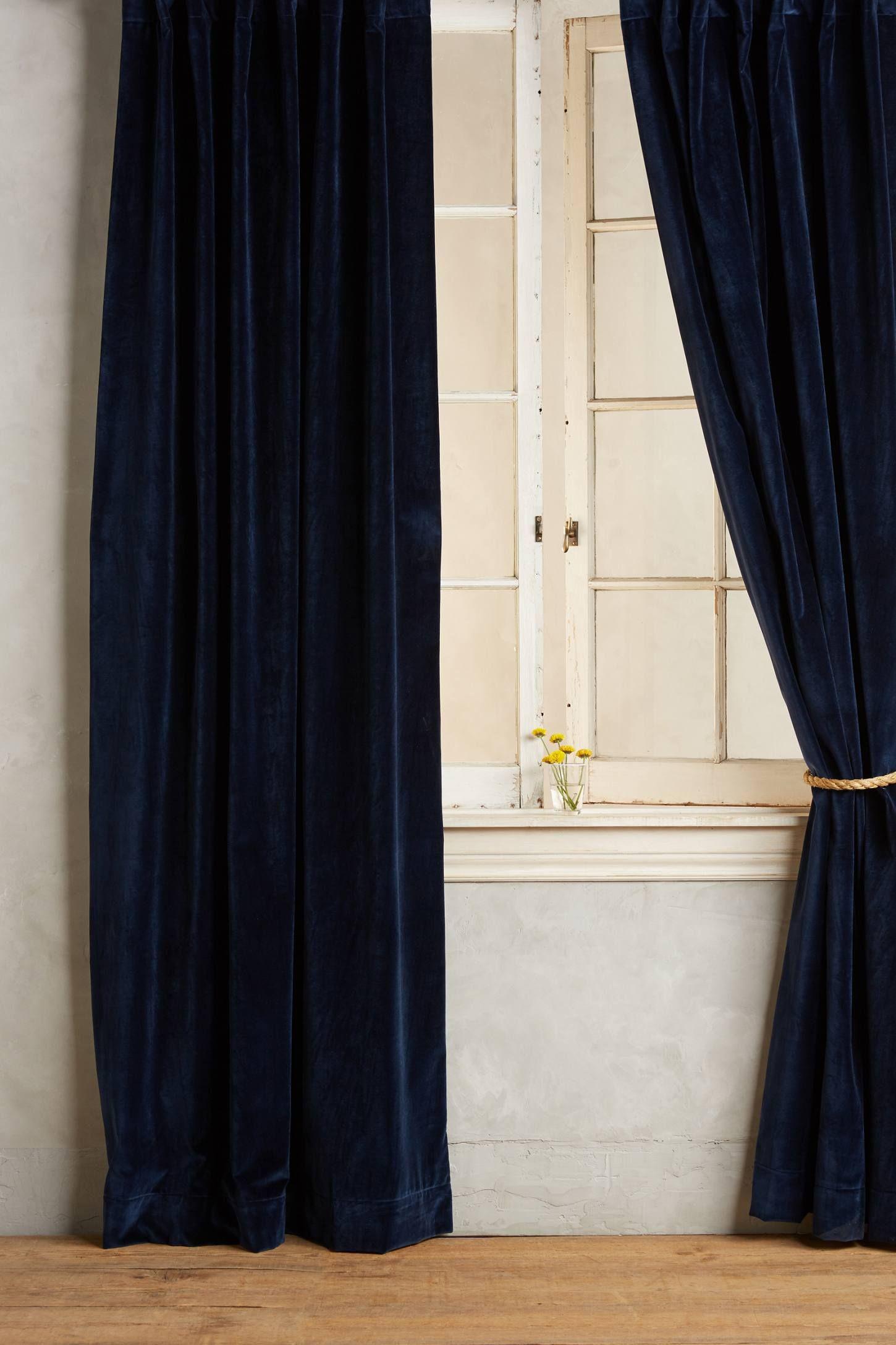black curtains silk pin silver luxury luxe curtain interior decor grey velvet bedroom