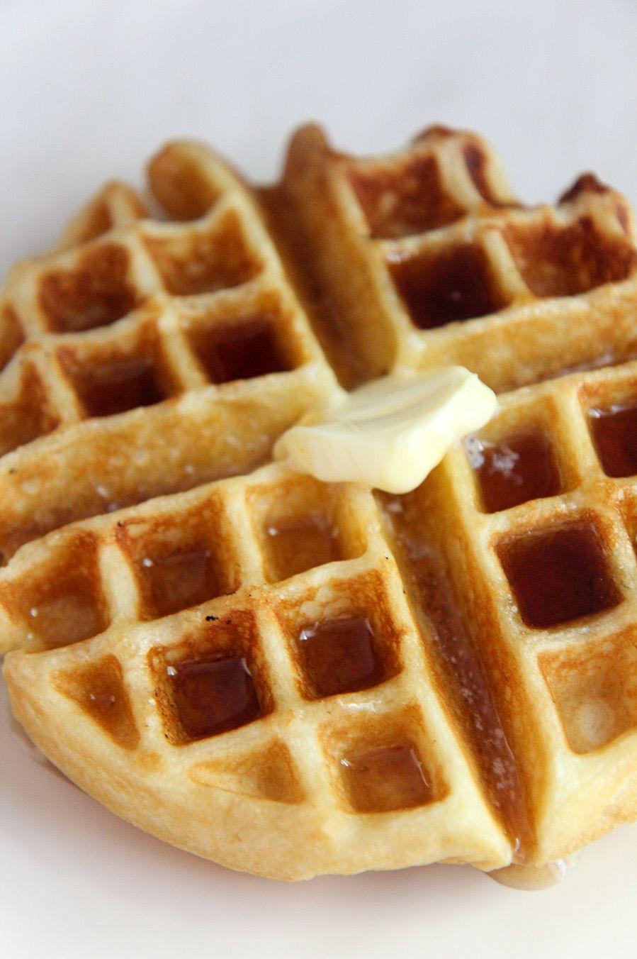 how to cook frozen belgian waffles