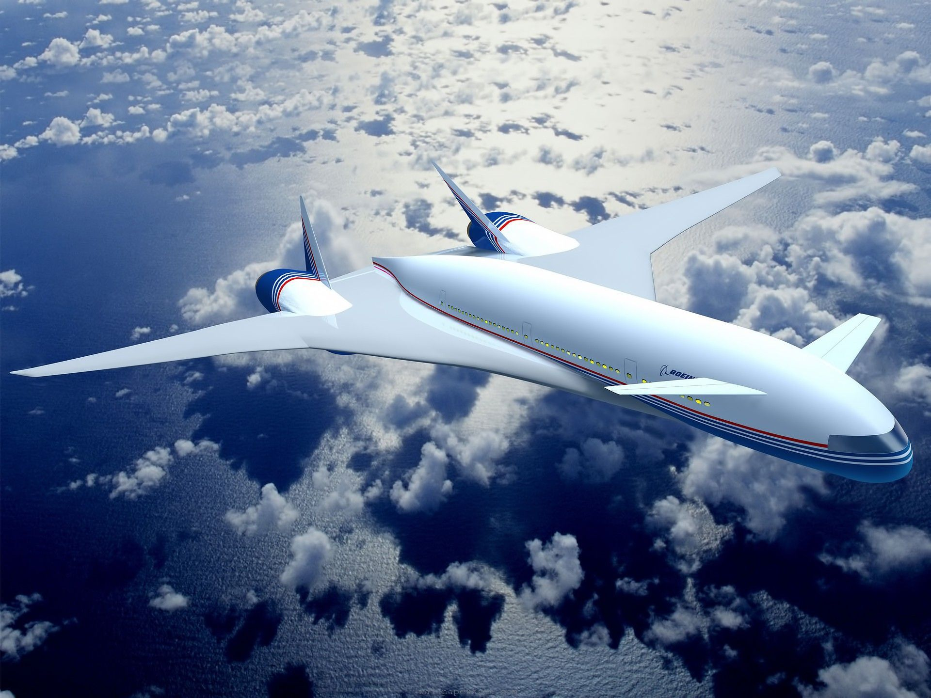 Boeing sonic cruiser ㅡ not future 취항 시기
