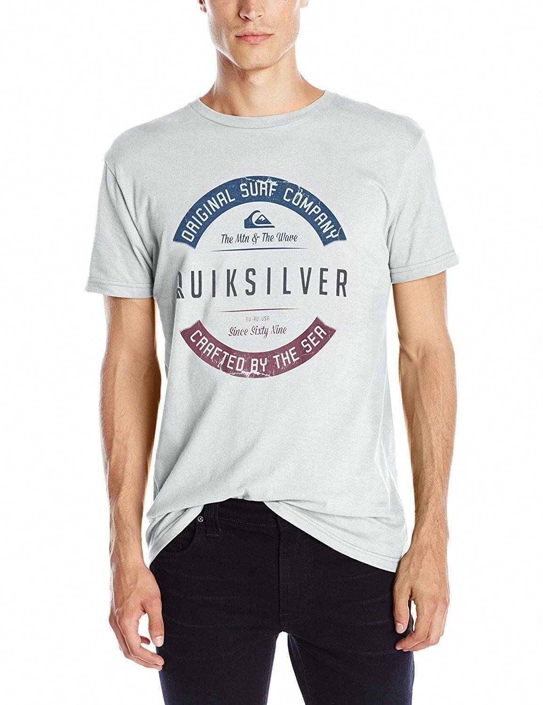 27bc0bfc97d14 Quiksilver Men s Crafty T-Shirt  MensT-shirts