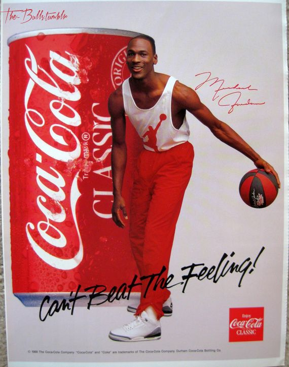 Michael Jordan Coca Cola ad Priroda Pinterest – Michael Jordan Birthday Card