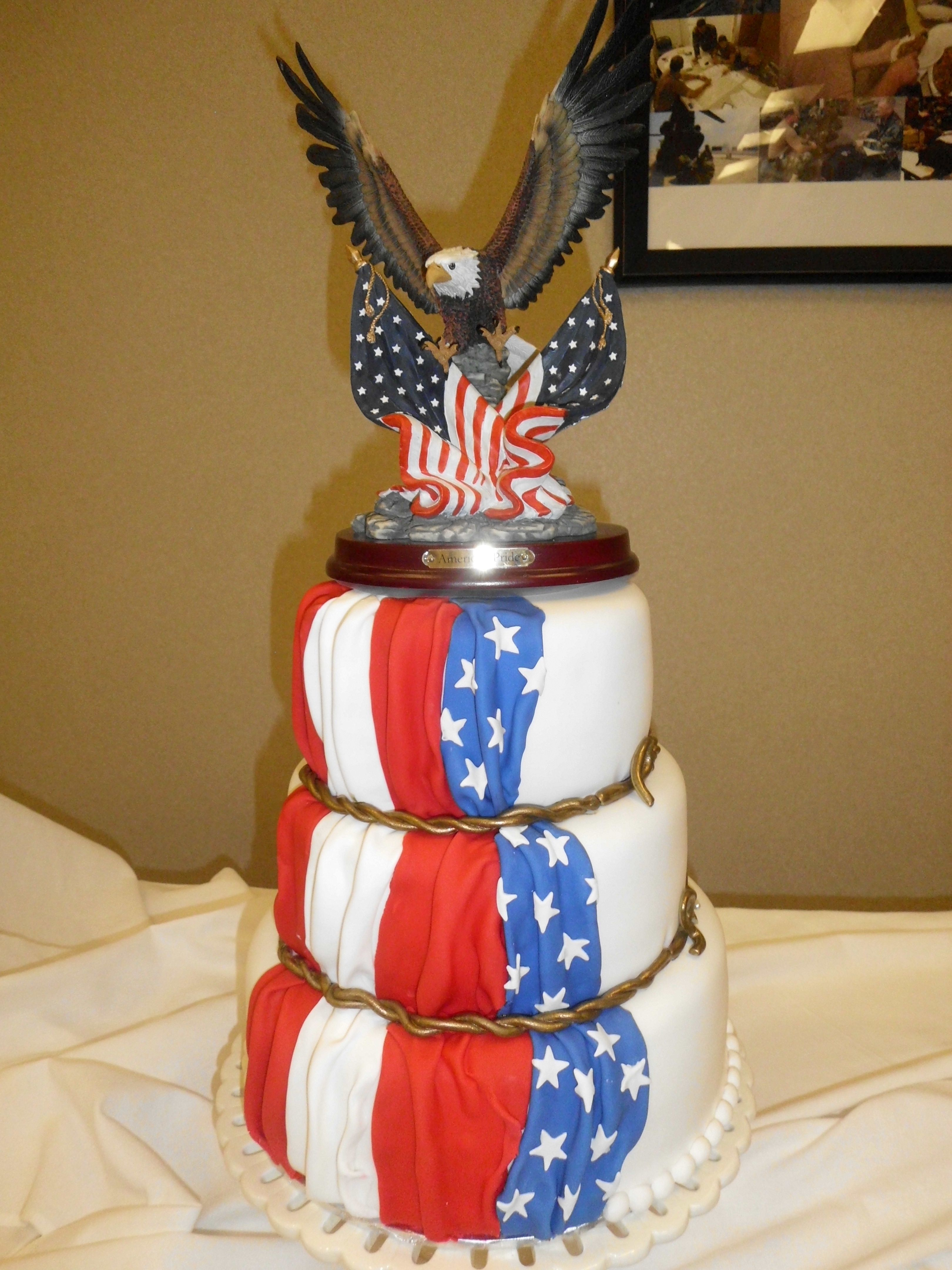 Full Colonel Retirement cake This was for my mom's