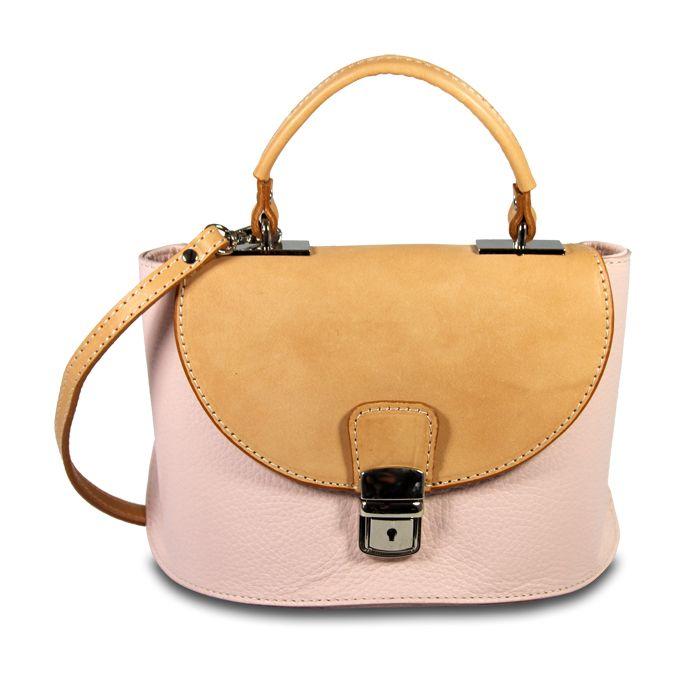 fdabba6dfe12d IOIOMIO  Damentasche  Tasche  Leder  rosa  mynewbag