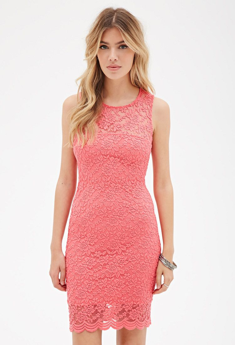 Floral Lace Bodycon Dress | Forever 21 Canada | LITA | Pinterest