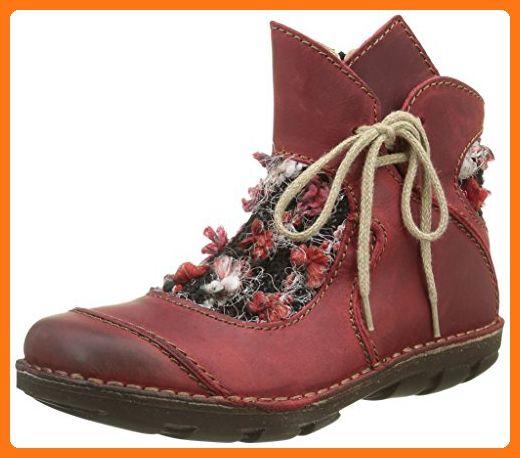 Rovers Damen Kurzschaft Stiefel, Rot (VinoVino), 38 EU