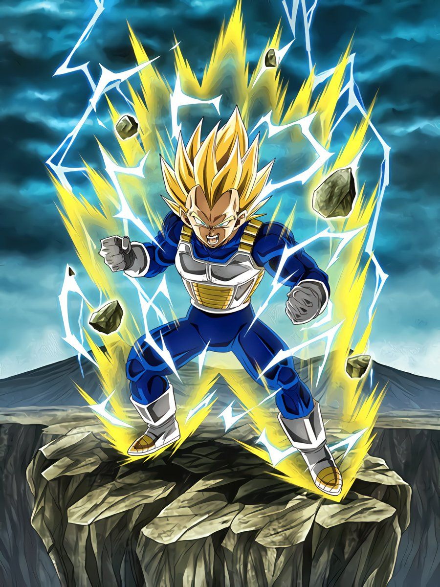 Limitless Combat Power Super Saiyan Vegeta Dragon Ball Super