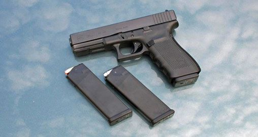 Glock Gen4 G20 10 mm Pistol Save those thumbs & bucks w/ free shipping on this magloader I purchased mine http://www.amazon.com/shops/raeind  No more leaving the last round out because it is too hard to get in. And you will load them faster and easier, to maximize your shooting enjoyment.