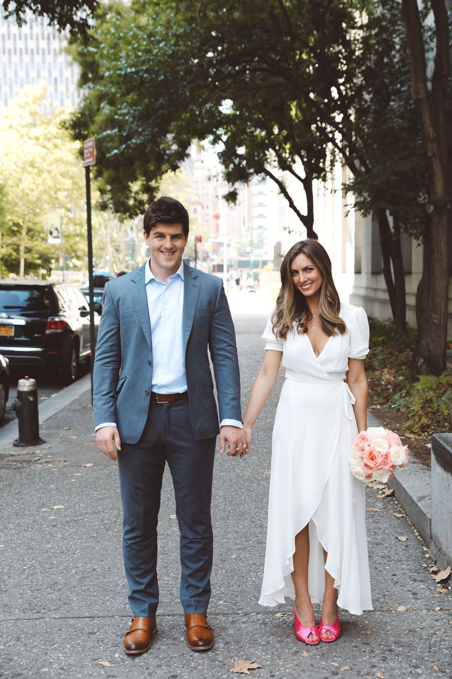 Caitlin and Barry NYC Elopement | City Hall | The West Village