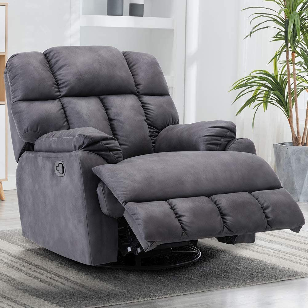 Recliner Chair In Living Room Decor Amazon Swivel Rocker
