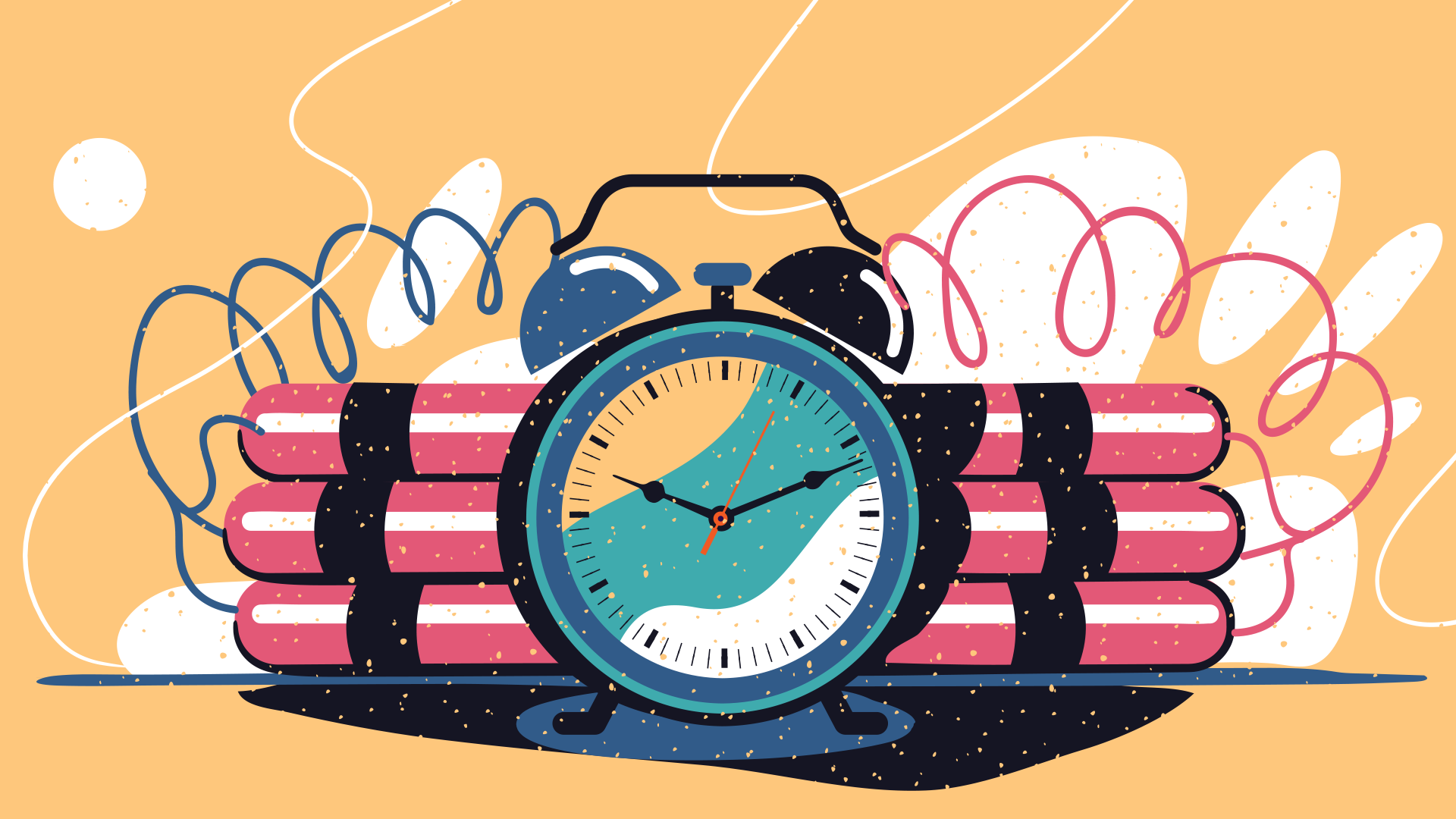 Graphical Illustration Of Time Bomb Illustration Character Illustration Graphic