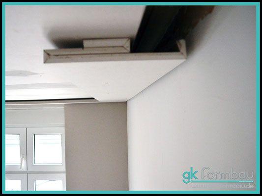 deckenfries zum ausgleich einer altbaudecke led ceiling pinterest trockenbau verkleidung. Black Bedroom Furniture Sets. Home Design Ideas