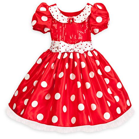 Minnie Mouse Costume for Girls - Red | Costumes & Costume Accessories | Disney Store